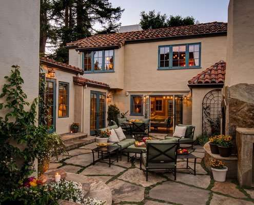 home remodeling - courtyard